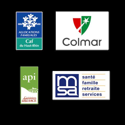 Nos partenaires : Multi-accueil : Crèche associative à participation parentale Les Mille Pattes à Colmar